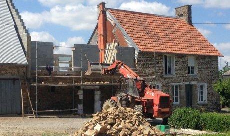 Travaux de maçonnerie à neuf ou en rénovation à Saint-Lô