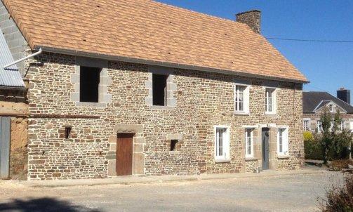 Maçonnerie de pierres Saint-Lô